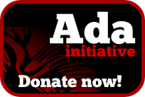 Donate to the Ada Initiative!